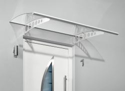 Haustürvordach Pultvordach PT/ET  160 x 90 x 22,5 cm