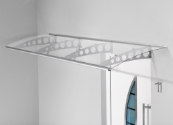 Haustürvordach Pultvordach PT/ET  300 x 90 x 22,5 cm