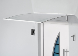 Haustürvordach Pultvordach 140 x 90 x 17,5
