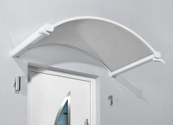 Haustürvordach Rundbogenvordach NO 160x90x30 cm
