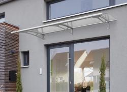 Haustürvordach Pultvordach PT/XL (W) 205 x 142 x 25 cm