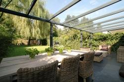 Terrassenüberdachung Sonnen 400x300 Glas